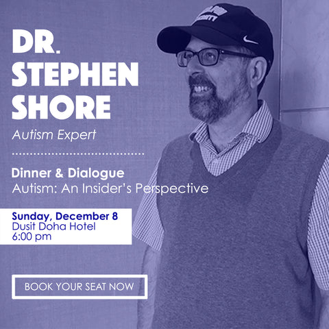Dinner with Dr. Stephen Shore