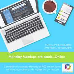 e-Monday Meetups: April 13, Guest host: Sabika Shaban