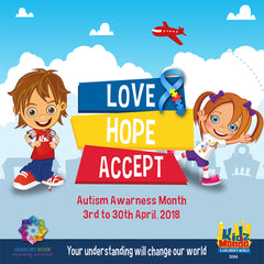 Kidzmondo & Baladna Park's Awesome Deal for Autism Awareness Month