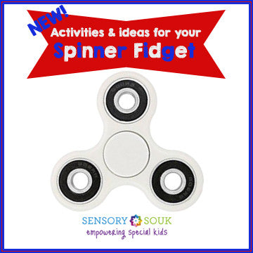 Activities & Ideas for your Spinner Fidget