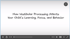 How Vestibular Processing Affect's Learning, Focus, and Behavior