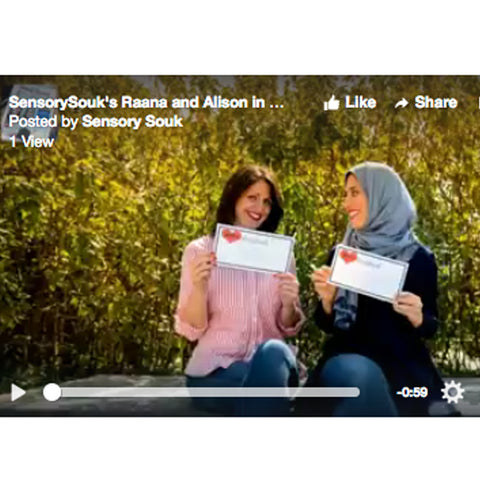 SensorySouk's Raana and Alison's story shared with Qatar Expat Women
