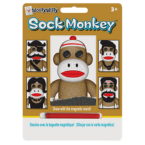 Wooly Willy Magnetic Sock Monkey
