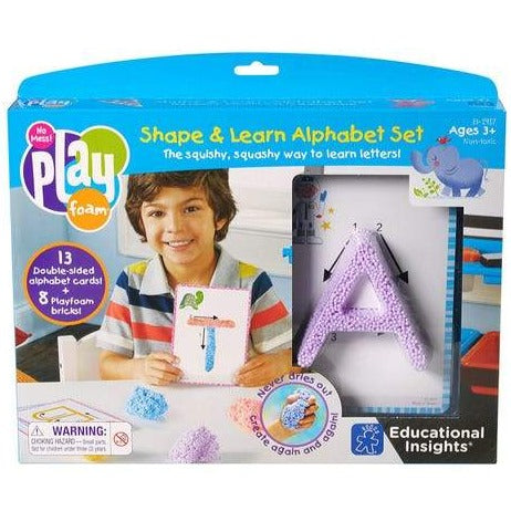 Playfoam Shape and Learn Uppercase Alphabet Set