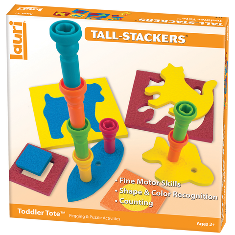 Tall-Stacker Toddler Tote