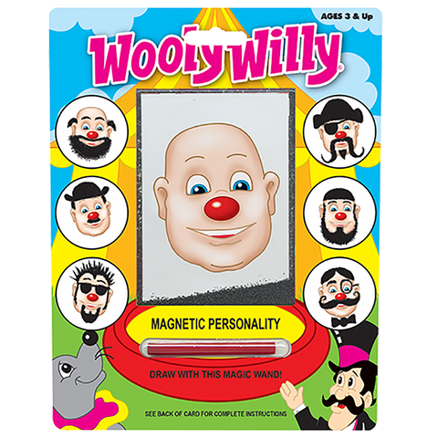 Wooly Willy Magnetic Personality-Neon
