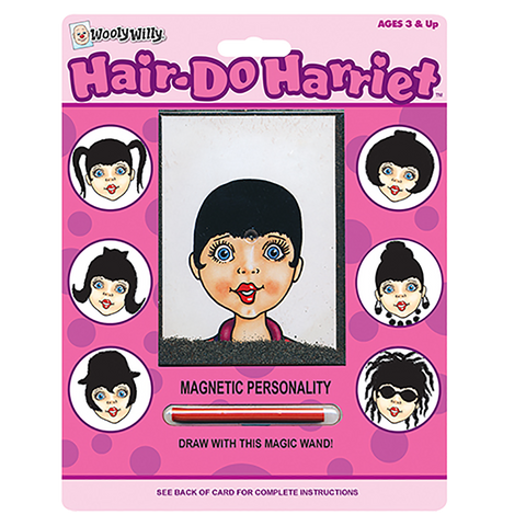 Wooly Willy Magnetic Hair-Do Harriet
