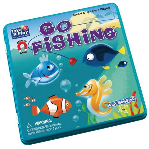 Take 'N' Play Go Fishing Magnetic Game