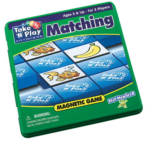 Take 'N' Play Anywhere Matching Magnetic Game