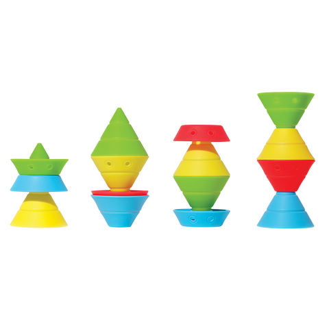 Hix Convertible Cones Building & Fidget Toy