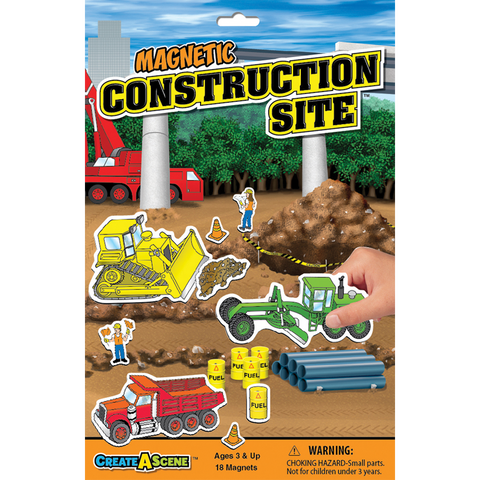 Create A Scene Magnetic Construction Site