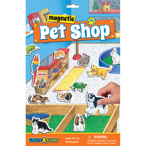 Create A Scene Magnetic Pet Shop