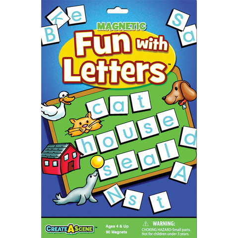 Create A Scene Magnetic Fun with Letters
