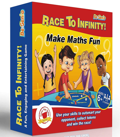 Race to Infinity Math Board Game