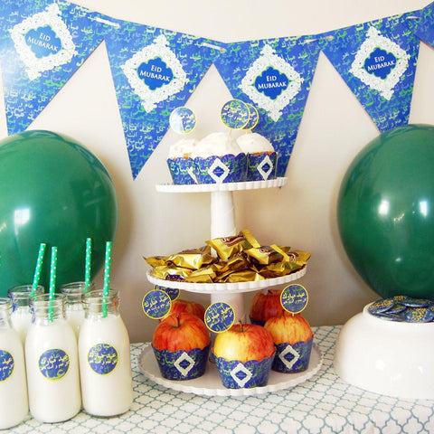 Eid: Blue Diamonds Eid Party Kit