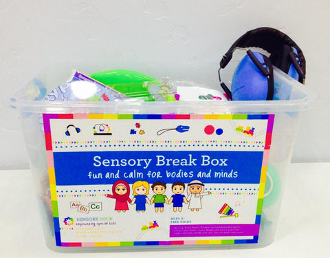 Fun & Calm Sensory Break Box