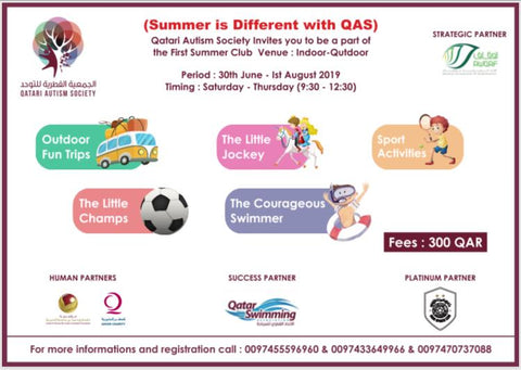 Summer Camp: Qatari Autism Society