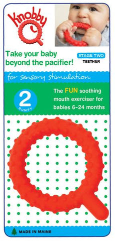 Knobby Chewy Q Teether (stage 2)