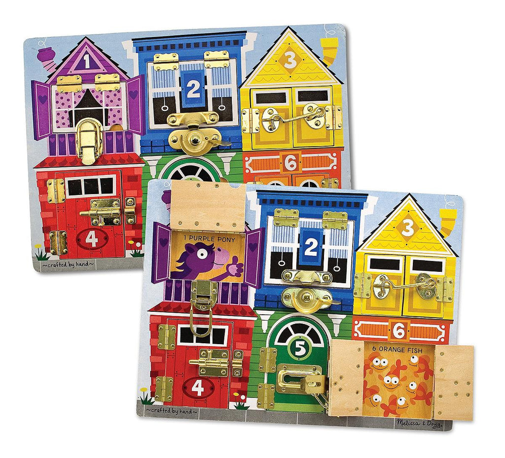 Latches Wooden Activity Board