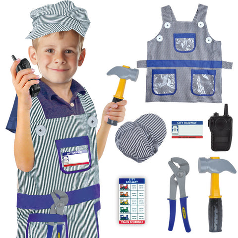 Costume-Train Engineer