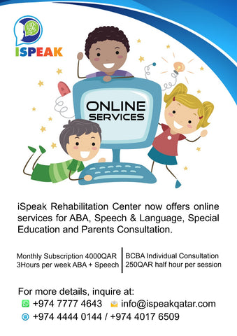 Online: iSpeak Rehabilitation Center