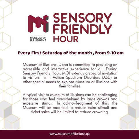 Museum of Illusions Sensory Friendly Hour