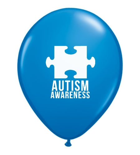 Autism Awareness Balloons