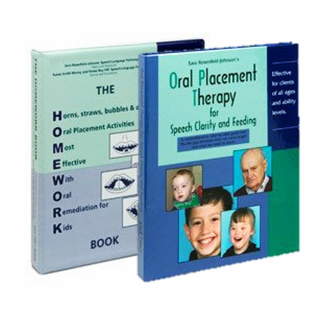 TalkTools Oral Placement Therapy with Homework Book