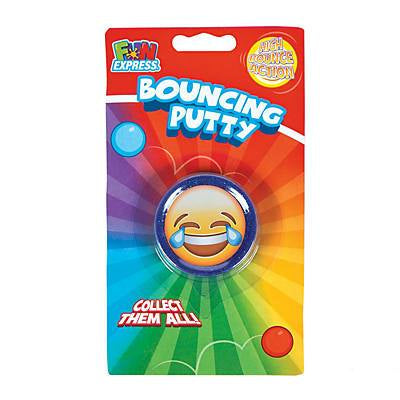 Emoji Glitter Bouncing Putty