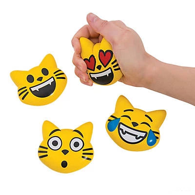 Squeeze Ball Emoji Cats