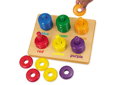 Colouring Rings Sorting Board
