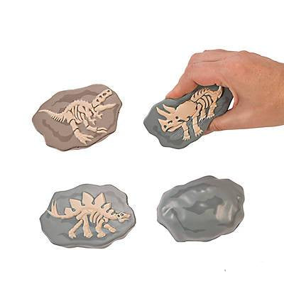 Squeeze Ball Dinosaur Fossil