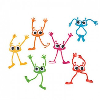 Bendable Googly Eye Monsters