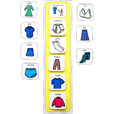 Visual Getting Dressed Schedule Pack