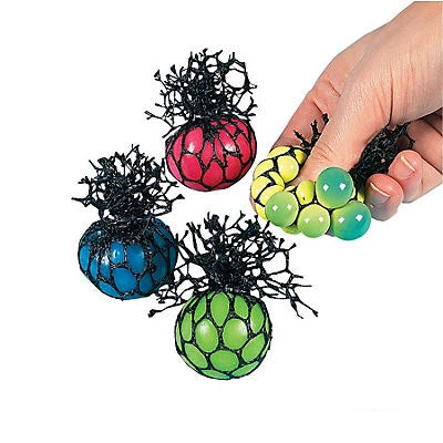 Squeeze Ball Mesh-Covered, Color-Changing ball