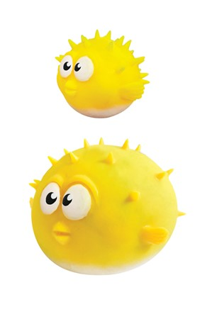 Aqua Squisheez Puffer Fish Stress Ball