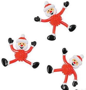 Bendable Santa