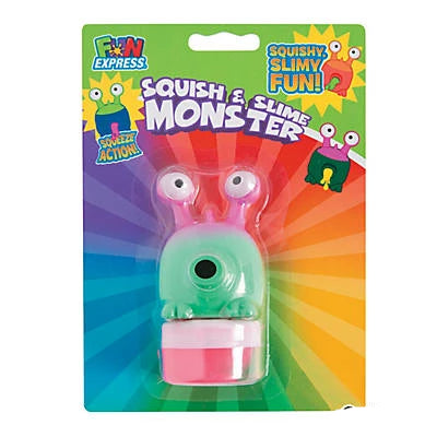 Squish & Slime Monster