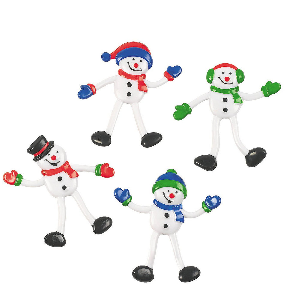 Bendable Snowmen