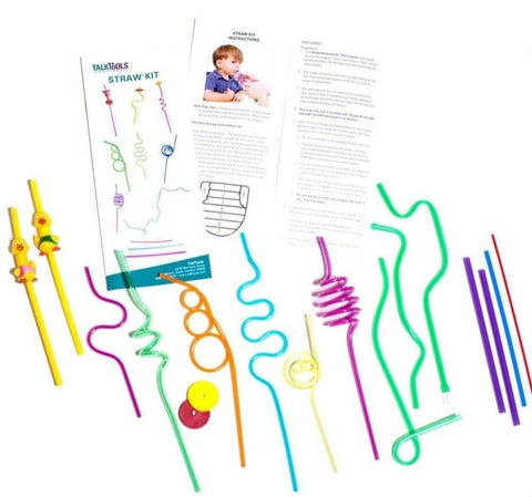 TalkTools Straw Kit