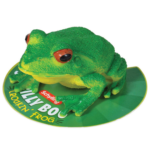 Billy Bog Frog Squeeze Ball