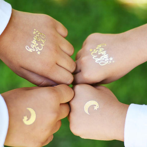 Eid: ModernEid: HappyEid Tattoos