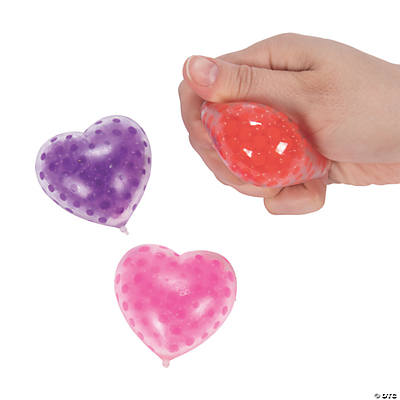 Valentine Heart Shape Water Bead Toy
