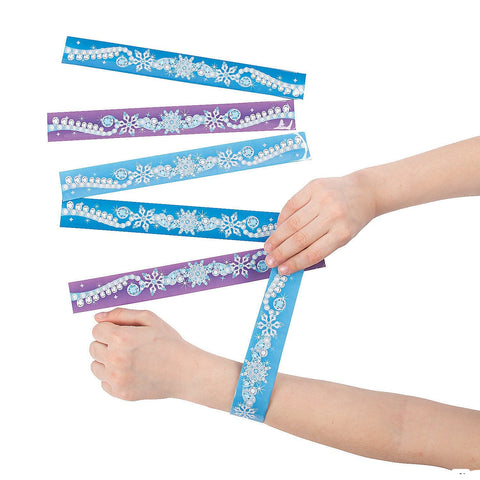 Winter Princess Slap Bracelet