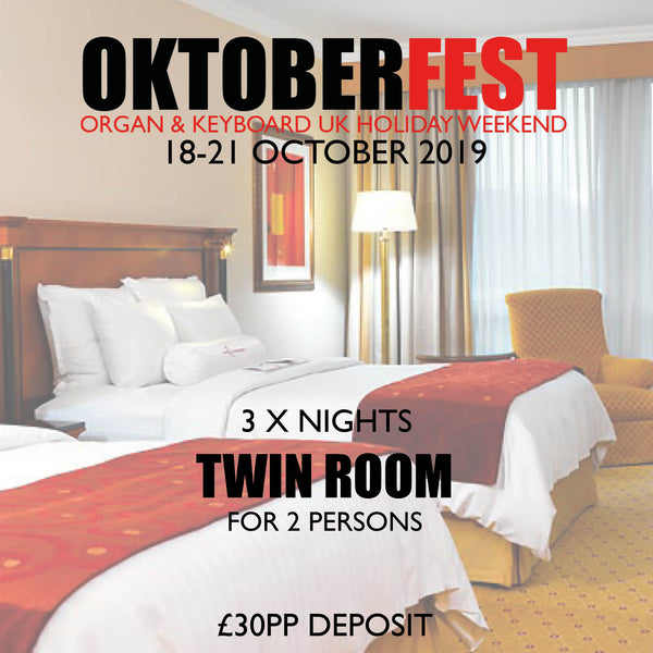Twin Room deposit - 3 Nights Dinner, Bed & Breakfast