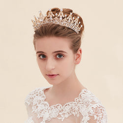 New Fashion Magnificent Crystal Bridal Tiaras Rhinestone Wedding Diadem for Women Headbands Hair Jewelry Accessories Wholesale - onlinejewelleryshopaus