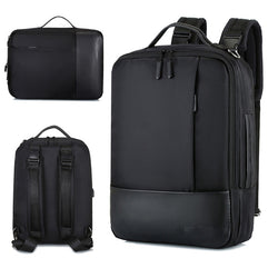 Business Backpack Men Laptop Backpacks 15.6 Inch Waterproof Male Women Bags USB Charging Back Pack Notebook Black Travel Bagpack