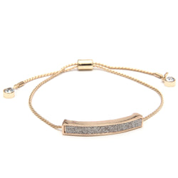 Sunshine 3 colors adjustable crystal shining bracelet gold silver black open bangles fashion fine luxury jewelry forever love - onlinejewelleryshopaus
