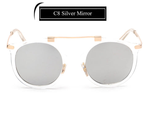 New Fashion Women Sunglasses Men Mirror Luxury Brand Designer Sun glasses UV400 F052 - onlinejewelleryshopaus