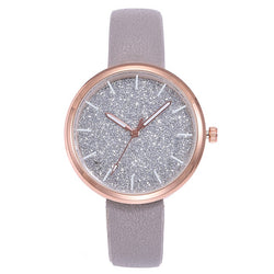 New Arriveshi Simple Fashion Women's Watch Sparkling Women's Watch Relogio Feminino Montre Femme Horloge Zegarek Damski